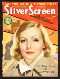 """Silver Screen Magazine (May, 1933). (Multiple Pages) (8.5"""" X 11""""). Miscellaneous"""