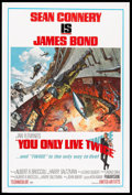 "Movie Posters:James Bond, You Only Live Twice (United Artists, 1967). One Sheet (27"" X 41"") Style A. James Bond.. ..."