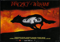 """Dances With Wolves (Orion, 1991). Polish B1 (26.5"""" x 38""""). Western"""