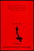 """Movie Posters:Horror, The Omen (20th Century Fox, 2006). One Sheet (27"""" X 40"""") DS Advance. Horror.. ..."""