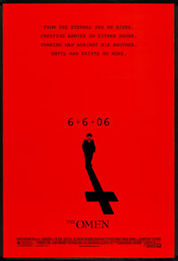 "The Omen (20th Century Fox, 2006). One Sheet (27"" X 40"") DS Advance. Horror"