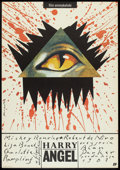"Movie Posters:Horror, Angel Heart (Tri-Star, 1988). Polish B1(26.25"" X 37.5""). Horror.. ..."