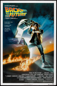 "Back to the Future (Universal, 1985). One Sheet (27"" X 41""). Science Fiction"