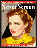 """Movie Posters:Miscellaneous, Silver Screen Magazine (November, 1936). (Multiple Pages) (8.5"""" X 11.5""""). Miscellaneous.. ..."""