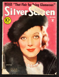 """Silver Screen Magazine (October, 1934). (Multiple Pages) (8.5"""" X 11""""). Miscellaneous"""