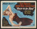 "Movie Posters:Film Noir, Born to be Bad Lot (RKO, 1950). Title Lobby Cards (2) (11"" X 14""). Film Noir.. ... (Total: 2 Items)"