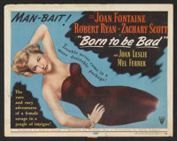 "Born to be Bad Lot (RKO, 1950). Title Lobby Cards (2) (11"" X 14""). Film Noir. ... (Total: 2 Items)"