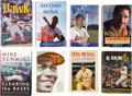 Autographs:Others, Baseball Stars Signed Books Lot of 8. ...