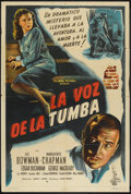 "Movie Posters:Mystery, The Walls Came Tumbling Down (Columbia, 1946). Argentinean Poster (29"" X 43""). Mystery.. ..."