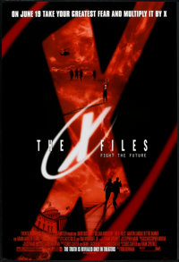 """The X Files (20th Century Fox, 1998). One Sheets (3) (27"""" X 40"""") Advance DS & SS Styles A, B & D. Scie..."""