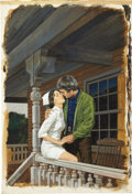 Original Comic Art:Covers, Uldis Klavin Nurse Sue's Romance Cover Illustration OriginalArt (1975)....