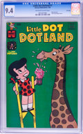 Bronze Age (1970-1979):Humor, Little Dot Dotland #7 File Copy (Harvey, 1963) CGC NM 9.4 Off-whiteto white pages....