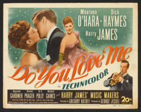 """Do You Love Me (20th Century Fox, 1945). Title Lobby Card and Lobby Card (11"""" X 14""""). Musical. ... (Total: 2 I..."""