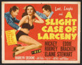 """Movie Posters:Crime, Crime Title Card Lot (United Artists & MGM, 1949-1957). Title Lobby Cards (3) (11"""" X 14""""). Crime.. ... (Total: 3 Items)"""