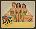 """Movie Posters:Musical, Lucky Legs Lot (Columbia, 1942). Title Lobby Card (11"""" X 14"""") and Lobby Cards (2) (11"""" X 14""""). Musical.. ... (Total: 3 Items)"""