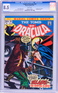 Bronze Age (1970-1979):Horror, Tomb of Dracula #10 (Marvel, 1973) CGC VF+ 8.5 White pages....