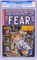 Golden Age (1938-1955):Horror, Haunt of Fear #16 (EC, 1952) CGC VF- 7.5 Cream to off-whitepages....