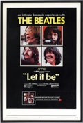 Music Memorabilia:Posters, The Beatles Let It Be Movie Poster (1970)....