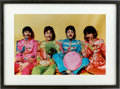 Music Memorabilia:Photos, The Beatles Sgt. Pepper's Lonely Hearts Club Band Photo....
