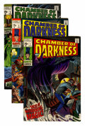 Silver Age (1956-1969):Horror, Chamber of Darkness #1-8 Group (Marvel, 1969-70) Condition: Average VF.... (Total: 8 Comic Books)