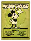 Platinum Age (1897-1937):Miscellaneous, Mickey Mouse Book - Later printing (Bibo & Lang, 1931)Condition: Apparent VG/FN....