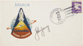 Autographs:Celebrities, Space Shuttle Columbia (STS-1) Launch Cover Directly fromthe Personal Collection of Mission Commander John Young,...