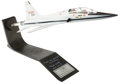 Explorers:Space Exploration, Northrop T-38 Talon Presentation Model Directly from the PersonalCollection of Astronaut Paul Weitz, Certified and Signed....