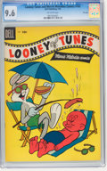Golden Age (1938-1955):Cartoon Character, Looney Tunes and Merrie Melodies Comics #165 File Copy (Dell, 1955)CGC NM+ 9.6 Off-white pages....