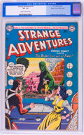 Golden Age (1938-1955):Science Fiction, Strange Adventures #41 Mile High pedigree (DC, 1954) CGC VF- 7.5Cream to off-white pages....