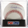 Autographs:Baseballs, Reggie Jackson Single Signed Baseball PSA Mint+ 9.5. ...