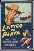 """Movie Posters:Western, The Silver Whip (20th Century Fox, 1953). Argentinean Poster (29"""" X 43""""). Western.. ..."""