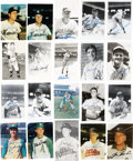 Autographs:Others, Athletics Signed Images Lot of 62. ...