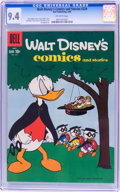 Silver Age (1956-1969):Cartoon Character, Walt Disney's Comics and Stories #224 (Dell, 1959) CGC NM 9.4 Off-white pages....