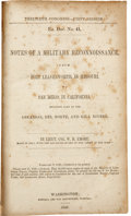 Books:Non-fiction, W. H. Emory. Notes of a Military Reconnaissance, from FortLeavenworth, in Missouri, to San Diego, in California. Wa...