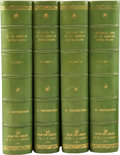 Books:First Editions, W[illiam]. Winterbotham. An Historical, Geographical,Commercial, and Philosophical View of the United States, and ofth... (Total: 4 Items)
