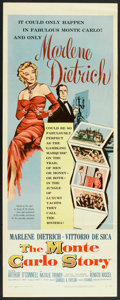 """Movie Posters:Comedy, The Monte Carlo Story (United Artists, 1957). Insert (14"""" X 36""""). Comedy.. ..."""