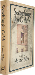 Books:First Editions, Anne Tyler. Searching for Caleb. New York: Alfred A. Knopf,1976. First edition. Publisher's beige cloth over b...