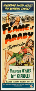 "Flame of Araby (Universal International, 1951). Insert (14"" X 36""). Adventure"