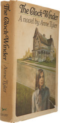 Books:First Editions, Anne Tyler. The Clock Winder. New York: Alfred A. Knopf,1972. First edition. Publisher's full green gilt-stampe...