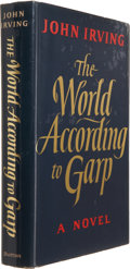Books:First Editions, John Irving. The World According to Garp. New York: E. P.Dutton, [1978]. First edition. Publisher's gilt-stamped na...