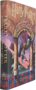 Books:Signed Editions, J. K. Rowling. Harry Potter and the Sorcerer's Stone -Signed by the Author. Illustrations by Mary GrandPré. [Ne...