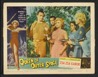 "Queen of Outer Space (Allied Artists, 1958). Lobby Cards (4) (11"" X 14""). Science Fiction. ... (Total: 4 Items..."