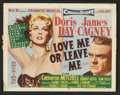 "Movie Posters:Drama, Love Me or Leave Me (MGM, 1955). Title Lobby Card (11"" X 14"") and Lobby Card (11"" X 14""). Drama.. ... (Total: 2 Items)"