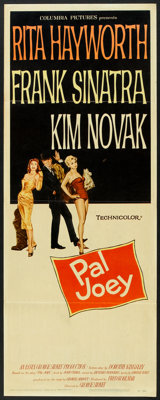 "Pal Joey (Columbia, 1957). Insert (14"" X 36""). Musical"