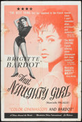"Movie Posters:Sexploitation, That Naughty Girl (Films Around the World, 1956). One Sheet (27"" X 41""). Sexploitation.. ..."