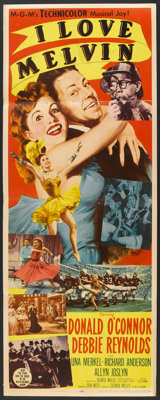 """I Love Melvin (MGM, 1953). Insert (14"""" X 36"""") and Title Lobby Card (11"""" X 14""""). Comedy. ... (Total:..."""