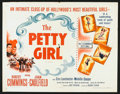 "Movie Posters:Comedy, The Petty Girl (Columbia, R-1955). Half Sheet (22"" X 28""). Comedy.. ..."