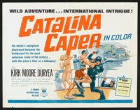 "Catalina Caper (Crown International, 1967). Half Sheet (22"" X 28""). Mystery"