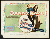 """The Inspector General (Warner Brothers, 1950). Half Sheet (22"""" X 28""""). Comedy"""