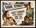 "Movie Posters:Film Noir, Side Street (MGM, 1950). Half Sheet (22"" X 28"") Style A. Film Noir.. ..."